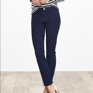 Banana republic Sloan 5 pocket legging navy blue